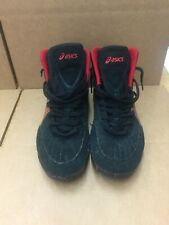 RARE Asics OG Original Black/Red Aggressor 1 Wrestling Shoes Size 14