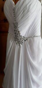 Wedding bridesmaid prom dress