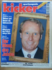 KICKER 104/105 - 27.12. 1995 * Berti Vogts Dortmund-Poster Eishockey Skispringen