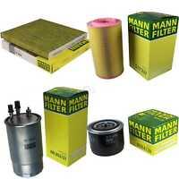 MANN-FILTER PAKET Fiat Ducato Kasten 250_ 290_ 130 Multijet 23 D 250 110 150