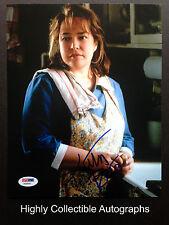 KATHY BATES SIGNED 8X10 PHOTO AUTOGRAPH MISERY PSA DNA COA