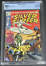 Silver Surfer #10 CBCS 9.0 (WHITE PAGES) BEAUTIFUL CLASSIC SILVER SURFER CGC
