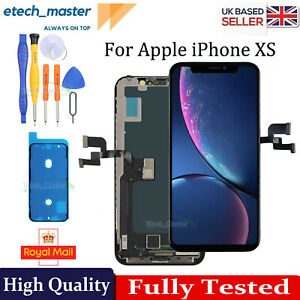 For iPhone XS LCD Display Retina Touch Screen Digitizer Repair Part Replacement