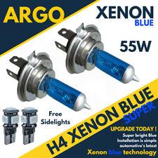 H4 Metal Azul Faros Xenon Opel Vivaro Furgoneta 2003 2015 501 SMD Led