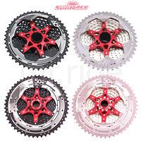 SunRace CSMX8 11-50T/11-46T Cassette for Shimano MTB Bike 11 Speed Hub/Wheel