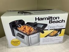 Hamilton Beach 2-Liter Professional Deep Fryer Top Adjustable Timer *BRAND NEW*