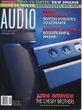 Audio Mag Sep 1995Boulder 102 & L5,Krell KPS-20i,B&W Matrix 805/800ASW, Aiwa
