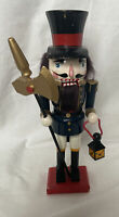 """Vintage Collectible Christmas Nutcracker soldier A-29 9"""" Inches"""