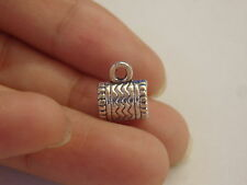 10 pendant charm bails hanger tibetan silver antique jewellery style UK JF81