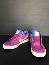 Nike Women Low Skate Shoes Size 8.5 Pink/Blue/Off White Item #354496 602