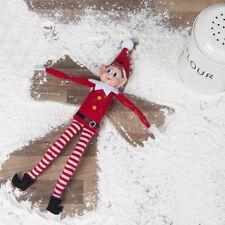 Elf 12 in (approx. 30.48 cm) Traviesa Malo Estante sentado Navidad Muñeco De Niño Regalo De Navidad
