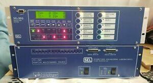 Schweitzer SEL-AMS 4000 SEL-351S Relay Meter Control Fault Locator