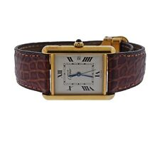Must de Cartier Tank Louis Vermeil Watch ref. 2413