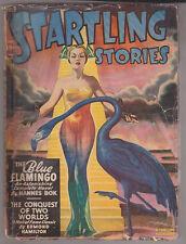 C1 STARTLING STORIES 01 1948 SF Pulp BERGEY Hannes BOK Hamilton ST CLAIR