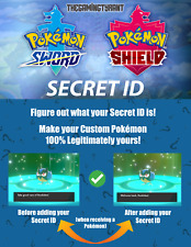 Pokemon Sword and Shield Secret ID