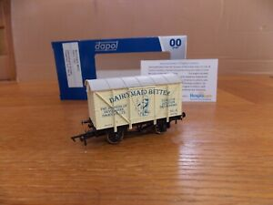 DAPOL VENTILATED VAN WAGON No 8 in DAIRYMAID BUTTER TIVERTON Limited Edition