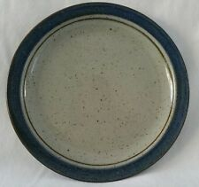 Hand Crafted Otagiri Original Mariner Salad Plate Japan Blue Brown Speckled Gray