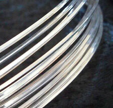 1Ft 26 GA Sterling Silver Filled ROUND Dead Soft Jewelry Wire Wrap Gauge G