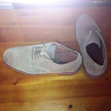 Mens size 12  Hush Puppies suede buck shoes