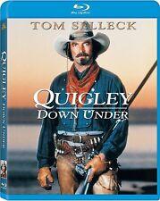 Blu Ray QUIGLEY DOWN UNDER (1990). Tom Selleck. Region free. New sealed.