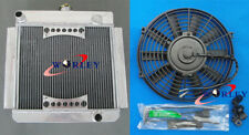 ALUMINUM RADIATOR FORD ESCORT MK1/MK2 PINTO/MEXICO RS2000 MT Manual + FAN