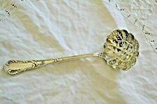 saupoudreuse cuillere à sucre argenté christofle chrysantheme