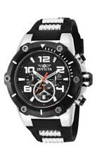 Invicta Speedway 17202 Men's Round Analog Chronograph Date Polyurethane Watch