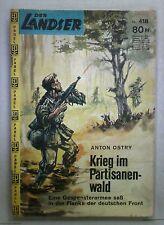 Der Landser Nr.: 418     Krieg im Partisanenwald