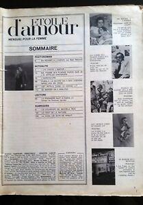 """Photoromans ETOILE D'AMOUR (Lancio) n°? de 1973 """"En revenant de l'avenir""""/ Allen"""