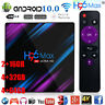 H96 Max Android 10.0 Smart TV Box 64G Quad Core 4K HD 2.4G/5G WiFi Media Player