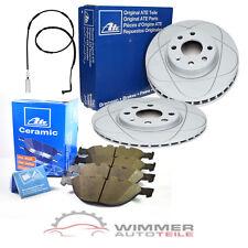 ATE CERAMIC Bremsbeläge + POWERDISC Bremsscheiben + WK vorne für BMW 5er E60 E61