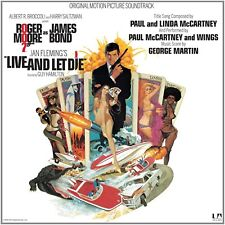 LIVE AND LET DIE JAMES BOND SOUNDTRACK LP VINYL 33RPM NEW