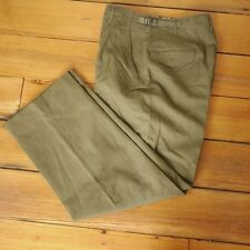 Vintage US Military Korean War OD Green 100% Wool Sturdy Field Pants 30 x 30