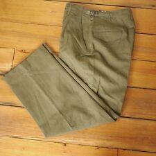 Vintage US Military Korean War OD Green 100% Wool Sturdy Field Pants 30 x 30
