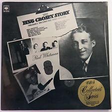 Bing Crosby Story Volume I: The Early Jazz Years, CBS 1974 Dbl LP Vinyl Record