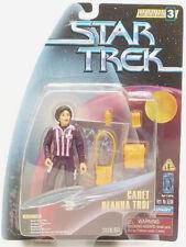 """Star Trek Cadet Deanna Troi Playmates 4.5"""" Action Figure 1997 5+ Carded"""
