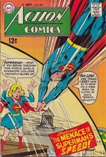 """Action Comics 367 """"The Menace Of Superman's Speed"""" VF"""