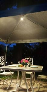 Pro quality restaurant catering wedding best pop up tent light- uses USB battery
