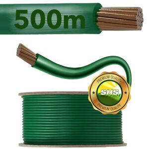 500m Begrenzungskabel Mähroboter Draht Kabel für Husqvarna Gardena Worx Robomow