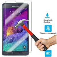 9H TEMPERED  GLASS SCREEN PROTECTOR For SAMSUNG GALAXY Note 4 USA