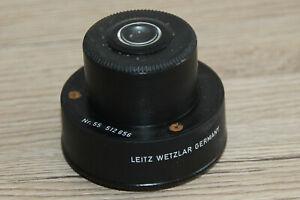 Leitz Mikroskop Microscope Kondensor A 0,90 mit Irisblende (Leitz Nr. 512656)