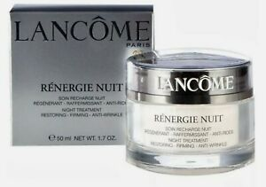 Lancome Renergie Nuit Night Treatment Cream 1.7 oz Anti-Wrinkle Restoring Firm
