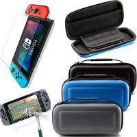 Protector Caja Funda Bolsa & Templado Protector de pantalla Para Nintendo Switch