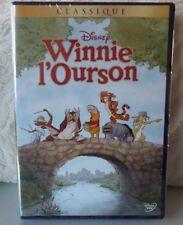 DVD DISNEY WINNIE L'OURSON NEUF SOUS BLISTER LOSANGE JAUNE 102