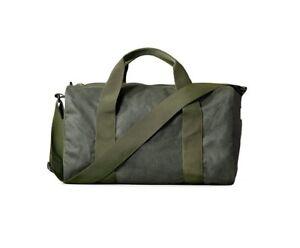 Filson Small Field Duffle Bag Tin Cloth 70110 Oil finish Spruce 11070110