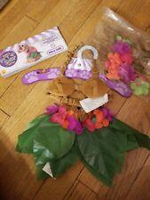 Rubies Hula Girl Luau Hawaiian Flowers Skirt Pets Dogs Halloween Costume small