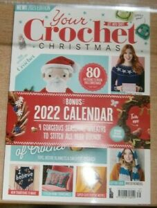 Get Into Craft magazine Your Crochet Christmas 80 patterns to hook 2022 Calendar