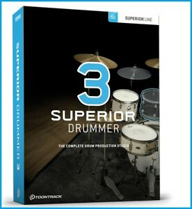 Toontrack Superior Drummer 3 | Includes More Than 500GB Expansions | For Windows