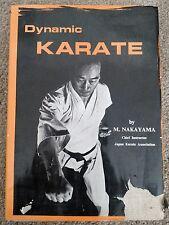 Dynamic Karate by M. Nakayama 1981 Hardcover
