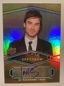 "IAN SOMERHALDER 2009 UD Spectrum Of Stars Authentic AUTO RARE Card ""LOST"""